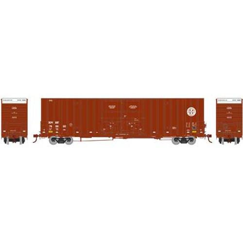 Athearn HO 75075 60' Gunderson Double Door Hi-Cube Box Car, Burlington Northern Santa Fe #1