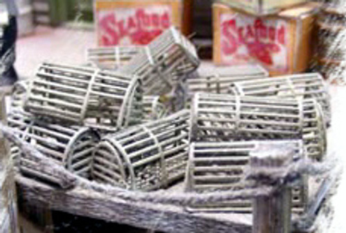 Bar Mills Scale Model Works HO 0047 Lobster Trap Kits (8)