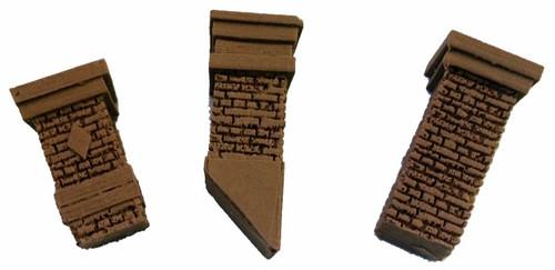 Bar Mills Scale Model Works O 04032 Aged Chimney Selection (3)