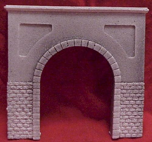 Pre-Size Model Specialties HO 105 Cut Stone Tunnel Portal for Single Track
