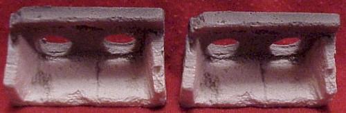 Pre-Size Model Specialties HO 125 Old Concrete Culvert (1 Pair)