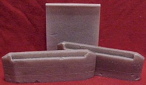 Pre-Size Model Specialties HO 128 1941 Concrete Culvert, 20' Bridge for Double Track (1 Pair)