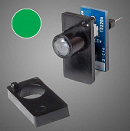 Walthers 942-154 Walthers Layout Control System, Single Color LED Fascia Indicator (Green)