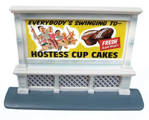 Classic Metal Works HO 20234 Vintage Hostess Billboard