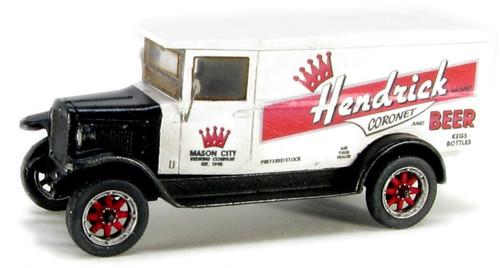 Showcase Miniatures HO 3001 1929 Six Speed Delivery Van Kit