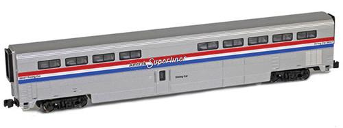 American Z Line Z 72003-1 Superliner I Diner, Amtrak (Phase III) #38007