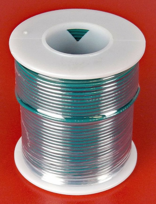 A.E. Corporation 22GN-100S 22 GA Green Hook Up Wire, Solid 100'