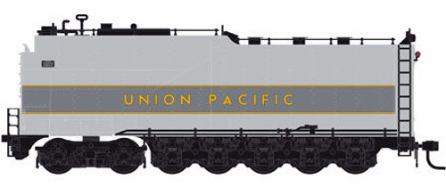 Athearn Genesis HO G15999 Centipede Oil Tender, Union Pacific (Two-Tone Gray/Yellow)