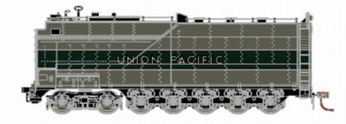 Athearn Genesis HO G16000 Centipede Coal Tender, Union Pacific (Two-Tone Gray/Silver)