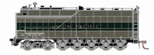 Athearn Genesis HO G16000 Centipede Coal Tender, Union Pacific (Two-Tone Gray/Silver)