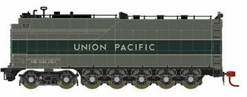 Athearn Genesis HO G16001 Centipede Oil Tender, Union Pacific (Two-Tone Gray/Silver)