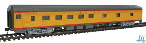 Walthers Mainline HO 910-30108 85' Budd 10-6 Sleeper Car, Union Pacific