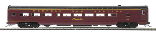 MTH HO 80-60059 Passenger Coach, Norfolk and Western #536