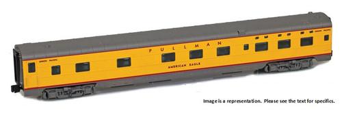 "American Z Line Z 73108-2 Pullman Lightweight 6-6-4 Sleeping Car, Union Pacific ""American Flyer"""