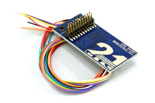 ESU 51957 Adapter Board 21MTC for 8 Amplified Outputs with Soldering Pads and Wires