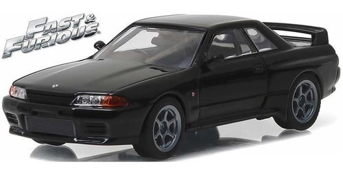 Greenlight Collectibles O 86229 1989 Nissan Skyline GT-R R32, Fast 7 (1:43)