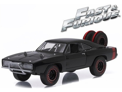 """Greenlight Collectibles O 86232 1970 Dodge Charger R/T """"Off-Road"""" Version, Fast 7 (2014)"""