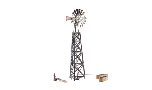 Woodland Scenics O BR5867 Built and Ready Old Windmill