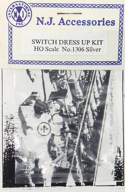 N.J. International HO 1306 Switch Dress-Up Kit, Silver