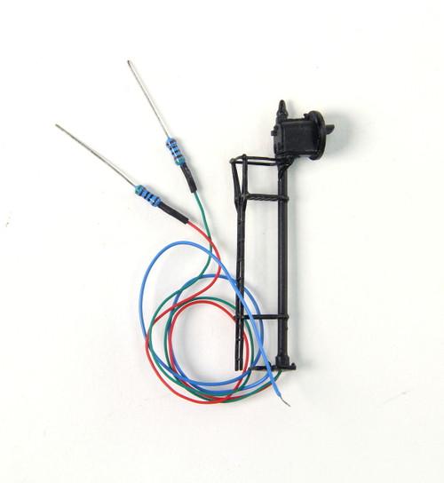 N.J. International HO 1342 SA-Type Target Signal Bi-Color LED Single Target, Black