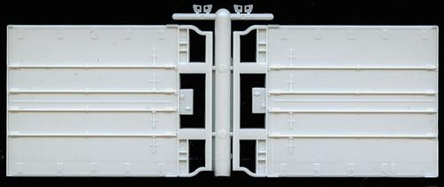 A-Line HO 50007 Rear Trailer Doors, Swing Plate Trailer (2)