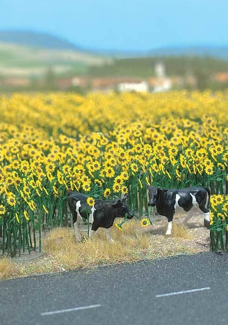 Walthers SceneMaster HO 949-1119 Sunflower Field