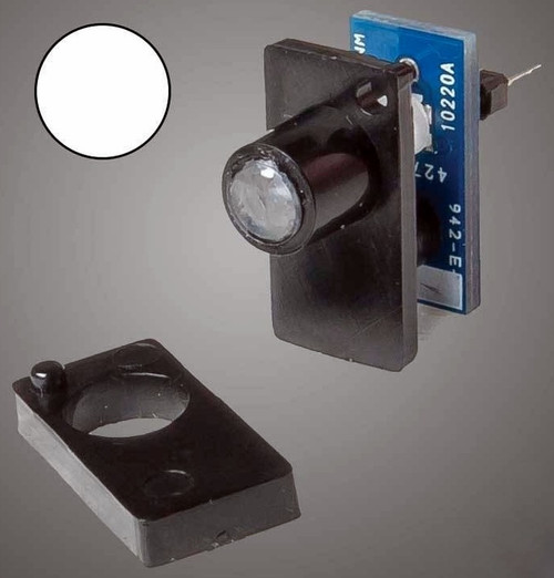 Walthers 942-157 Walthers Layout Control System, Single Color LED Fascia Indicator (White)