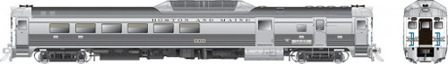 Rapido HO 16617 Budd Rail Diesel Car RDC-3, Boston and Maine (McGinnis) #6305 (DC/DCC/Sound Equipped)