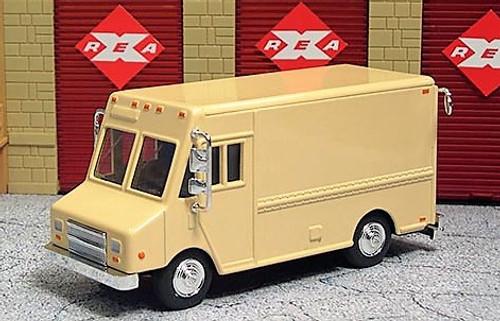 American Heritage Models O 48006 Delivery Step Van, Beige (Undecorated)