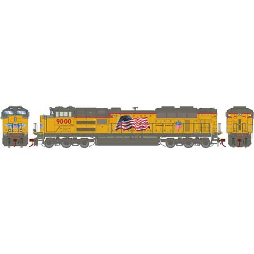 Athearn Genesis HO G89830 SD70ACe, Union Pacific #9000 (DCC and Sound Equipped)