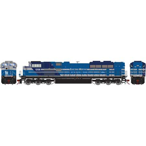 Athearn Genesis HO G89836 SD70ACe, EMD #1206 (DCC and Sound Equipped)