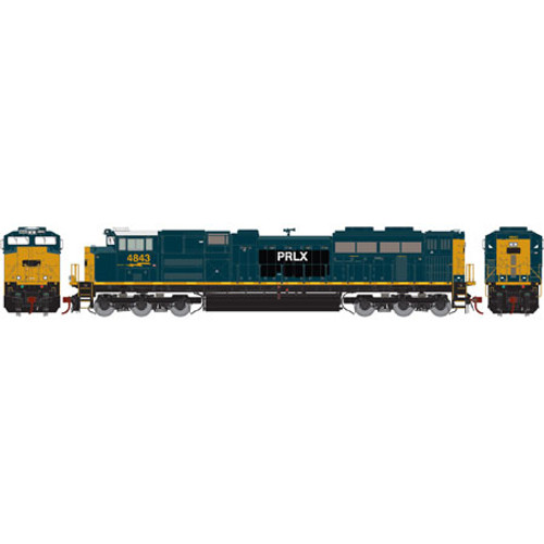 Athearn Genesis HO G89841 SD70ACe, PRLX #4843 (DCC and Sound Equipped)