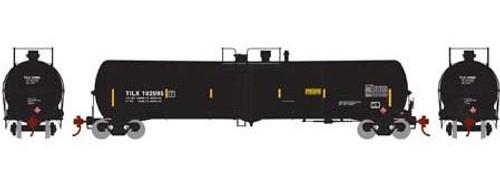 Athearn N 16519 30,000 Gallon Ethanol Tank Car, TILX (Black) #193002