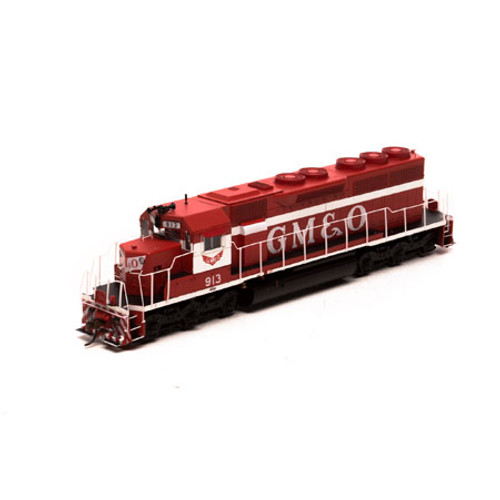 Athearn HO 86825 SD40, Gulf Mobile and Ohio (Red/White) #913 (DCC and Sound Equipped)