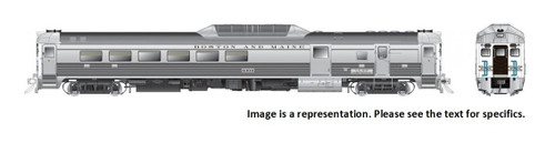Rapido HO 16618 Budd Rail Diesel Car RDC-3 Phase II, Boston and Maine (McGinnis) #6305 (DCC and Sound Equipped)