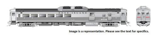 Rapido HO 16627 Budd Rail Diesel Car RDC-3 Phase Ib, Rock Island #9002 (DCC and Sound Equipped)