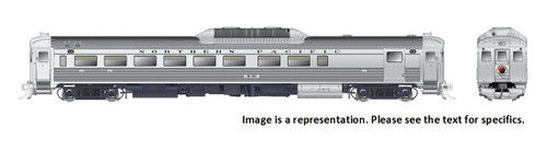 Rapido HO 16648 Budd Rail Diesel Car RDC-2 Phase Ic, Northern Pacific #B31 (DCC and Sound Equipped)