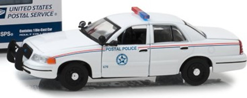 Greenlight Collectibles O 86523 2010 Ford Crown Victoria Police Interceptor, United States Postal Service (1:43) Limited Edition