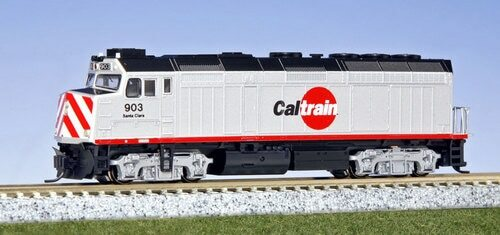 Kato N 1769003 EMD F40PH with Ditch Lights, Caltrain #903