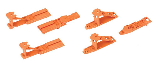 Walthers Proto HO 920-6060 Trailer Hitch Accessory Kit (6)