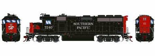 Athearn Genesis HO G15445 GP40-2, Southern Pacific #7244 (DCC and Sound Equipped)