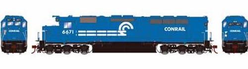 Athearn Genesis HO G63614 SDP45, Conrail #6671