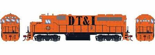 Athearn Genesis HO G64583 GP40-2, Detroit Toledo and Ironton #408