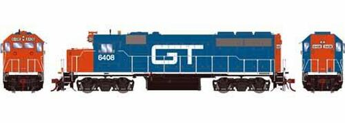Athearn Genesis HO G64687 GP40-2, Grand Trunk Western #6410 (DCC and Sound Equipped)