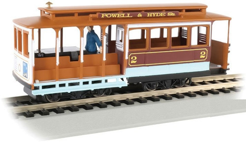 Bachmann HO 60537 Cable Car with Grip Man, Powell and Hyde Streets #2