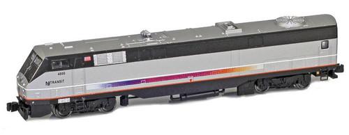 American Z Line Z 63505-1 GE P42 Genesis, New Jersey Transit #4800
