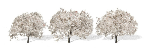 "Woodland Scenics TR3594 Cherry Blossoms, 1-3/4"" to 2-1/4"" (3)"