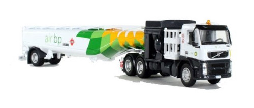 Iconic Replicas HO 87-0109 Volvo FM500 with Aviation Fueling Tanker, Air BP