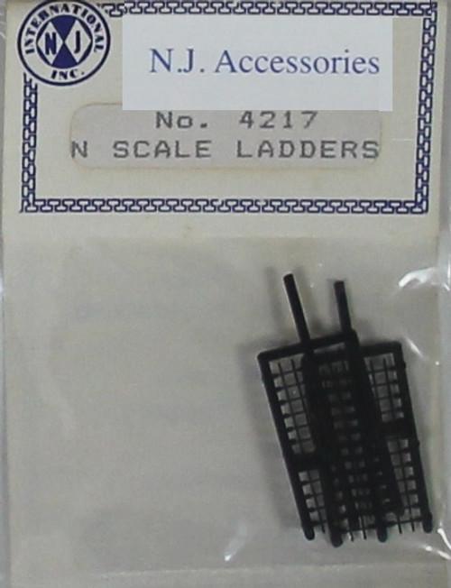 N.J. International N 4217 Ladders, Black (2)
