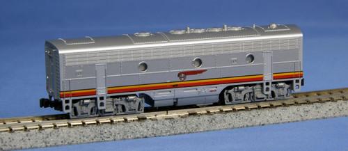 Kato N 1762211 EMD F7B Diesel, Santa Fe Warbonnet (Steam Generator)